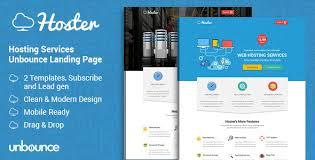 landing page hosting