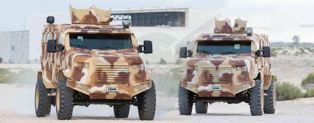 armored bulletproof car