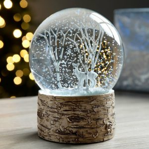 christmas snow globe blow up